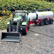 RC Traktor Rayline RT01F mit Anhänger Zisterne 1 28 27 MHz 60 Cm