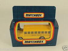 [OF3-77] MATCHBOX MB-47 SCHOOL BUS SCHULBUS AUTOBUS SCHOOL DISTRICT 2 1992 MIB