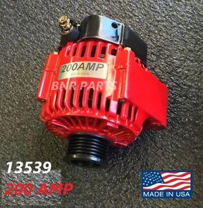 200 AMP 13539 Alternator Honda Accord High Output Performance HD USA Powder Coat