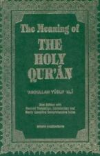 The Meaning Of The Holy Quran English, Arabic and Arabic Edition