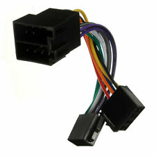 ISO Wiring Harness Connector Adaptor Stereo Radio Lead Loom For Peugeot 206 307