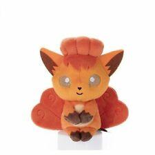 Takara Tomy Pokemon Chokkori Vulpix 15 cm tall Soft Doll Chaired Plush Japan