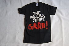 ROLLING STONES CONTRAST PAINT GRRR! GREATEST HITS T SHIRT SMALL NEW OFFICIAL