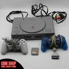 Sony Playstation 1 PS1 Konsole mit 2 Controllern, Memory Card und allen Kabeln