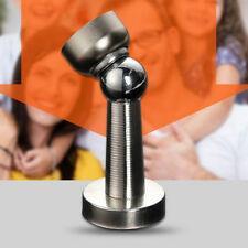 1magnetische Türfeststeller Türstopper aus Edelstahl Metall Alloy Stopper Silber