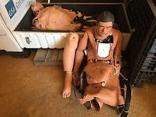 Meti Simulation Simulator Manikin Patient Training Lot of 2 First Aid CPR