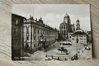 NDB 4) Bayern AK Passau 1950-60er Residenzplatz Omnibus Autos Architektur
