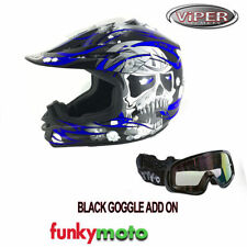 Cascos enduro/motocross brillante decorado para conductores