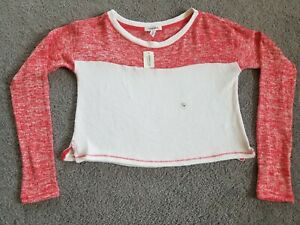 Women's Aeropostale Cropped Sweater, Size Medium, Very Soft NWT