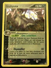Carte Pokemon GRAHYENA 10/109 Holo Rubis & Saphir Bloc EX Française