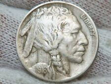 1916 P Buffalo Nickel Full Horn