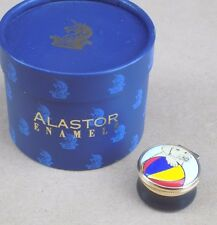 ALASTOR ENAMELS Golden Retriever with Ball Enamel Pill Box