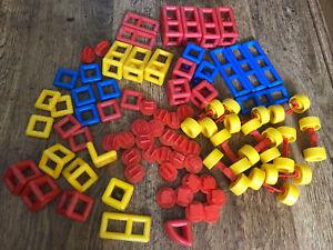 Mobilo Construction Set Educational Toy Resources Bundle Bell Wheels Plasticant