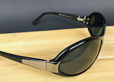 Prada Italy Black Sunglasses Unisex  67-16 with Case SPR10g