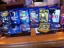 Scarface Gun SIMPSONS HIT & Run GTA VICE 007 GETA PS2 PLAYSTATION 2 giochi Bundle