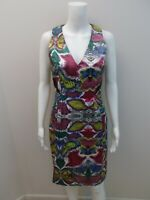VERONIKA MAINE PRINT, OCCASIONS DRESS SIZE 8  (#R496)