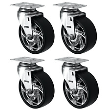 """Tool Box Swivel Replacement Wheels, 4-Pack (125MM/5"""")"""