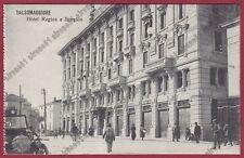 PARMA SALSOMAGGIORE TERME 220 ALBERGO HOTEL REGINA e SIMPLON Cartolina