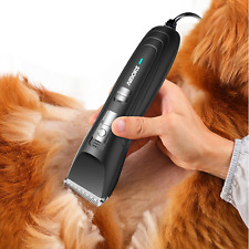 Aibors Dog Clippers For Grooming Professional 12V High Power Plug-In Pet Hair Tr