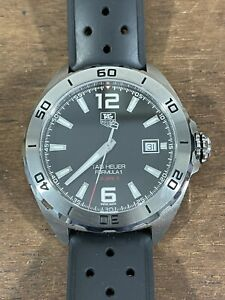Tag Heuer Formula 1 Calibre 5 automatic stainless steel wristwatch