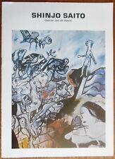 Shinjo Saito - Ken Ichi Adachi - Kenzo Tajika - Galerie Jan de Maere - 1985