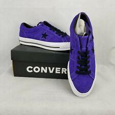 Converse One Star Ox Men's Shoes Court Purple Black 163248C Men 9.5 Women 11.5