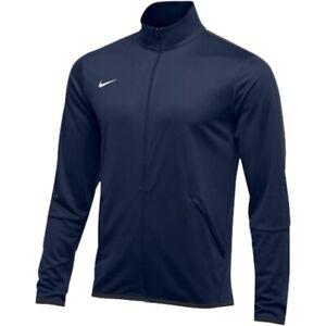 Nike Epic 835571-418 Navy Dri-Fit Full Zip Training Jacket Mens Med :2649