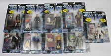 NIB Lot Of 9 Star Trek Playmates Action Figures - Rare Chase, DS9 Uniform, Pike