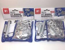 1/2'' Steel Grommet Installation Kit 104 Pcs-Repair your Tarp.2pks Total 208 Pcs