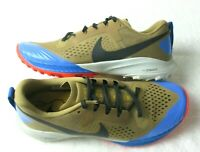 Nike Mens Air Zoom Terra Kiger 5 Trail Running Shoes Beechtree Khaki Size 9.5