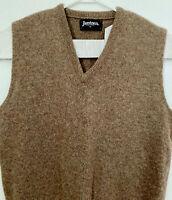 Vintage Jantzen Men's Knit Sweater Vest Size M Wool Blend V-Neck Sleeveless