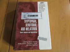 MEDECINE - TRYPTOPHAN SEROTONIN AND MELATONIN BASIC ASPECTS & APPLICATIONS 1999
