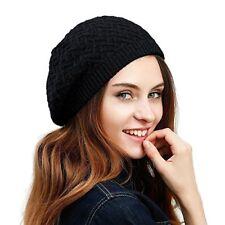 Julio ovejas para Mujer Dama De Punto Boina Sombrero Sombrero trenzado de lana  Merino Francés Boina F ecdf0192a5b