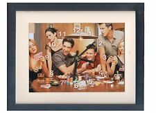 Friends TV Show. A high quality framed print and clock. Plus FREE key ring
