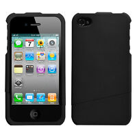 Black Slash Phone case(Rubberized) for APPLE iPhone 4s/4