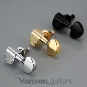 6 x NEW Vanson VN-03 Tuners, Machine heads for Les Paul, SG, ES, Acoustic etc
