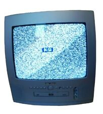 bush dvd 142tv Retro Gaming With Remote tested and working CTR portable tv