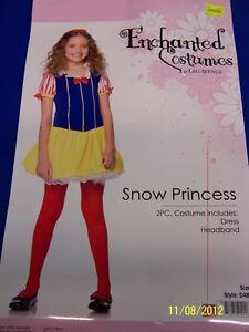 2 pc. Snow Princess Disney White Storybook Cute Dress Up Halloween Child Costume