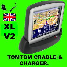 Tomtom Xl V2 / Versión 2 Dock & Ac Casa Cargador Adaptador