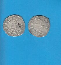 PHILIPPE IV Le Bel (1285-1314) Double Tournois billon Lot U PORT GRATUIT FRANCE