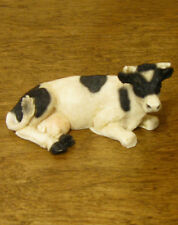 """Animal Figurines by Castagna #423 Mini B/W COW, NEW from Retail Store 1 3/8"""""""