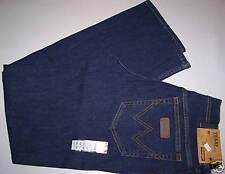 WRANGLER jeans Texas Blu stonewash stretch equitazione Taglia W36/L34