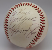 Ken Griffey Jr signed Patrick Mahomes autographed baseball! AMCo!