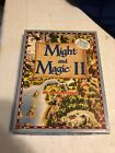 Vintage 1988 Might And Magic Ii Fantasy Role Playing Computer Game Ibm Incomplet