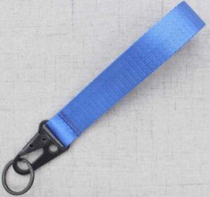 NEW Racing Keychain Wrist Lanyard with Metal Keyring SPORT