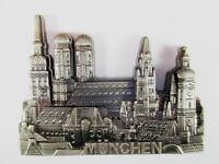 München Munich Germany Ansicht Metall Magnet Souvenir Deutschland