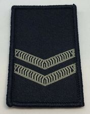 Rank Woven Patch #2*, Blue, Police, NOT official, Hook Rear