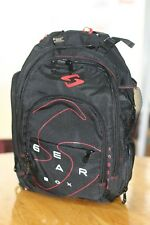 GEARBOX RACQUETBALL BAG Backpack M40 BLACK RED Graphics