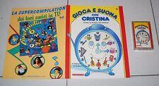 GIOCA E SUONA CON CRISTINA D'AVENA 8 Fascicolo + musicassetta De Agostini 1988
