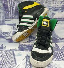 Adidas mens x def jam trainers size 7 black high tops black eu 40 sneakers rare